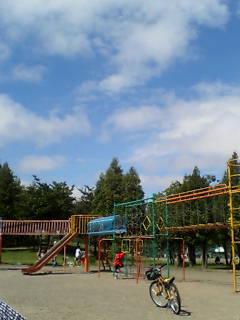 公園で遊ぶ!!