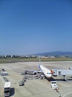 伊丹空港到着(^-^)