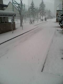 よく降る雪(>_<)