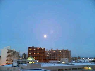 キレイな月(*^_^*)