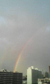 今日も虹♪