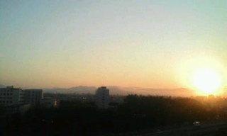 夕日がキレイ☆
